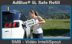 Vidéo IntelliSpout