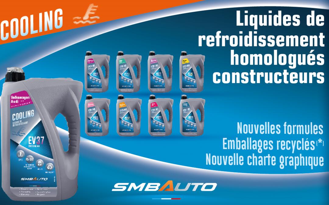 Liquides de refroidissement Homologués Constructeurs – 4L & 20L Emballages 50% recyclés